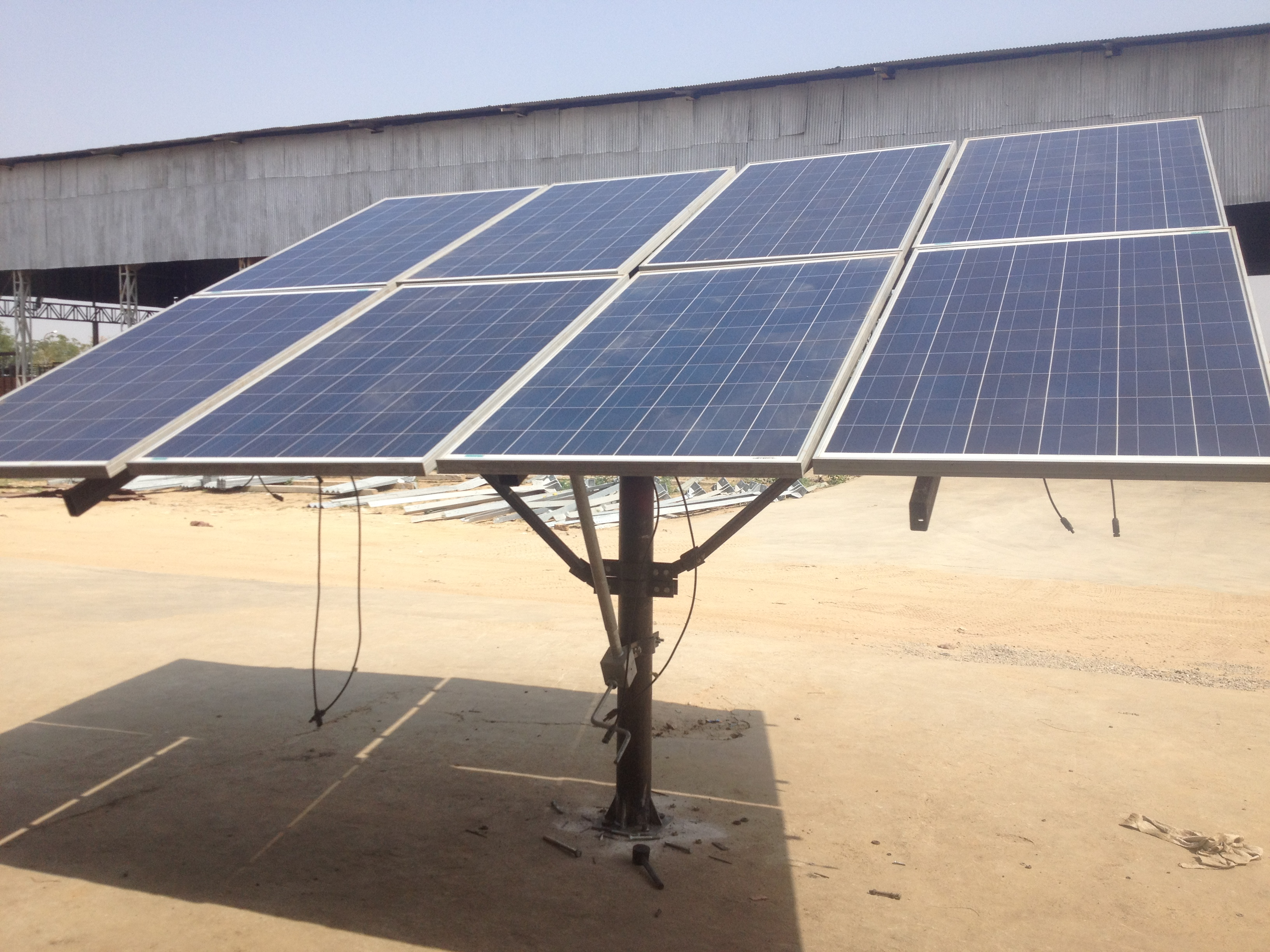 Solar Pump Double Axis
