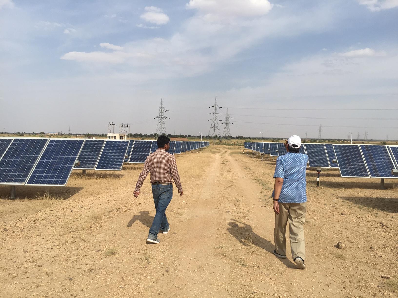 Solar Megawatt MW Site