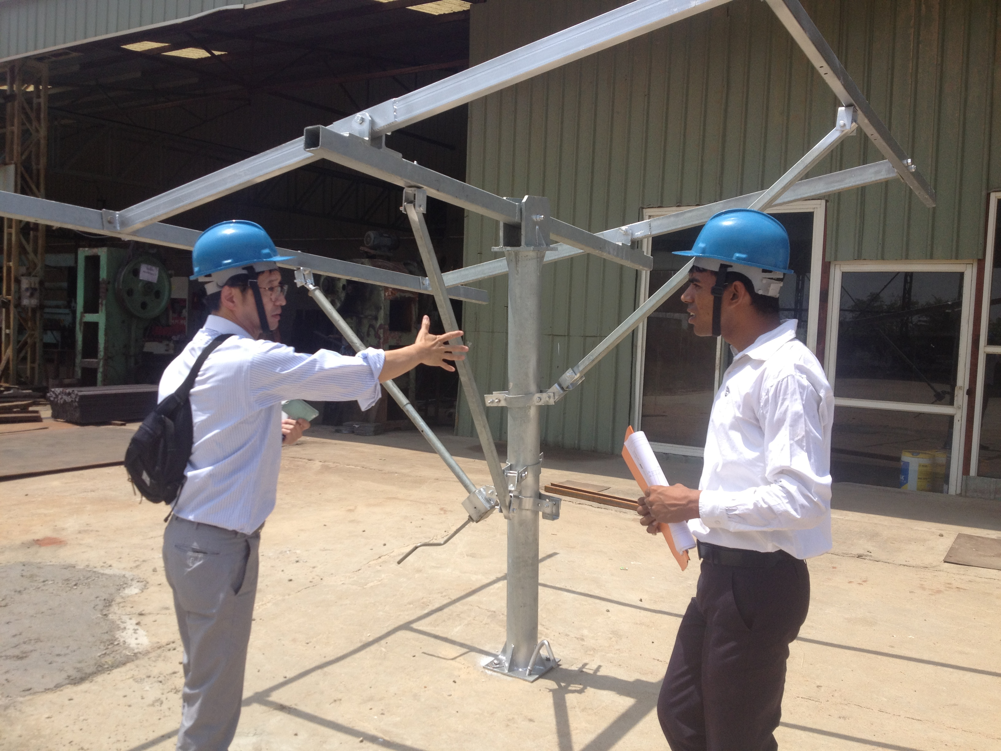 Solar Proto Inspection for Pump Structures