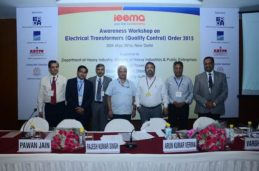 Awareness workshop on transformers electrical quality control order by IEEMA